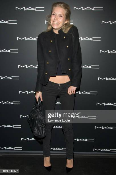 Theodora Richards during Olympus Fashion Week Fall 2006 MAC Chinese New Year Party at Eyebeam in New York City New York United States