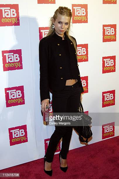Theodora Richards during Tab Kicks Off New York Fashion Week with the Launch of a New Energy Drink in New York City New York United States
