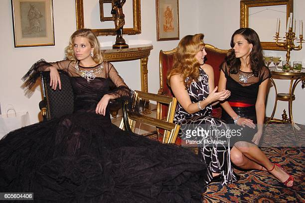 Theodora Richards Gillian HearstShaw and Lilly Bunn attend HOLLYWOULD Fall 2006 Presentation at Christie's Auction House on February 8 2006 in New...