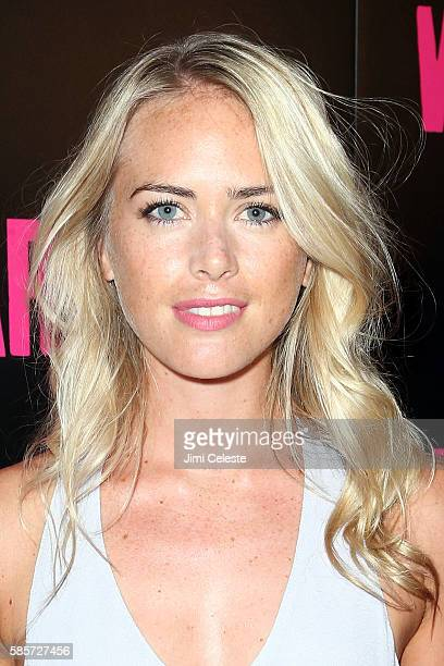 """Theodora Woolley attends the special screening of """"War Dogs"""" at Metrograph on August 3, 2016 in New York City."""