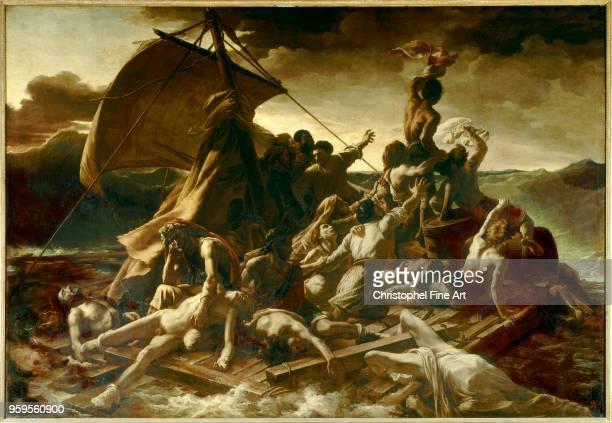 Theodore Gericault The Raft of the Medusa Oil on canvas91 x 716 m Paris Louvre Museum