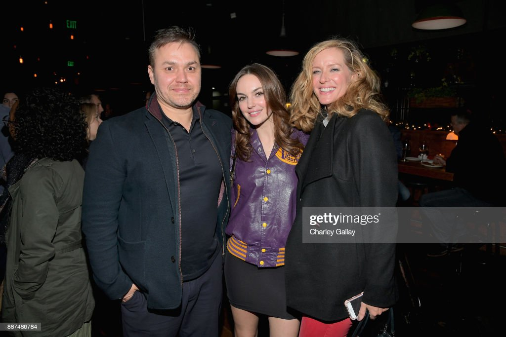 Theodore Melfi, Michelle Mylett and Kimberly Quinn attend the after party for Special Screening Of Netflix Films' 'El Camino Christmas' at ArcLight Cinemas on December 6, 2017 in Hollywood, California.