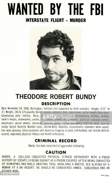 Theodore Robert Bundy was an American serial killer. Kidnapper. Rapist. Burglar. And necrophile who assaulted and murdered numerous young women and...
