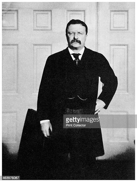 Theodore Roosevelt 26th President of the United States c1900s Roosevelt became a war hero when he led 'Roosevelt's Roughriders' in a famous charge...