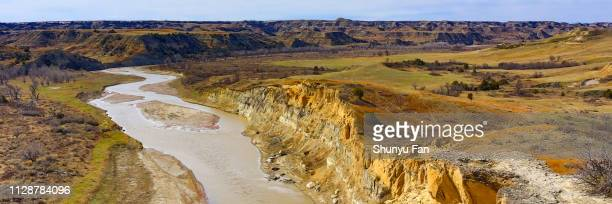 theodore roosevelt national park - north dakota stock pictures, royalty-free photos & images