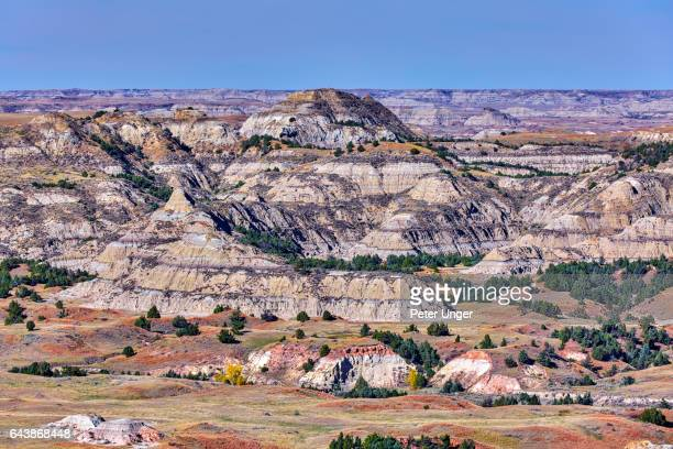 theodore roosevelt national park,north dakota,usa - north dakota stock pictures, royalty-free photos & images