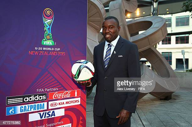 Theodore Whitmore of the FIFA Technical Study Group poses for a portrait outside the Sky City Grand Hotel during the FIFA U20 World Cup on June 16...