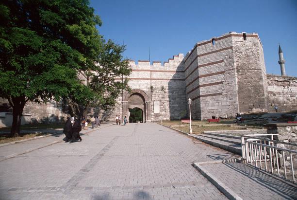 Theodosian Walls in Istanbul: Edirne Kapi
