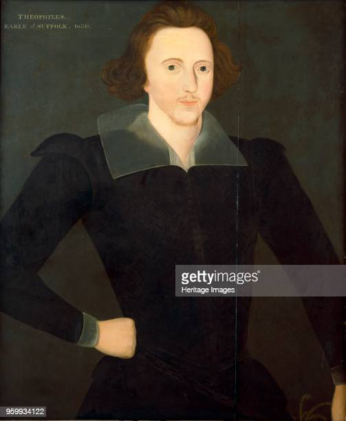 Theophilus Howard, 2nd Earl of Suffolk , 19th century. Painting in Kenwood Hose, London, from the Suffolk Collection. Artist Unknown.
