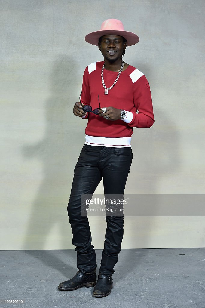 Theophilus London attends the Chanel show as part of the Paris Fashion Week Womenswear Spring/Summer 2015 on September 30, 2014 in Paris, France.