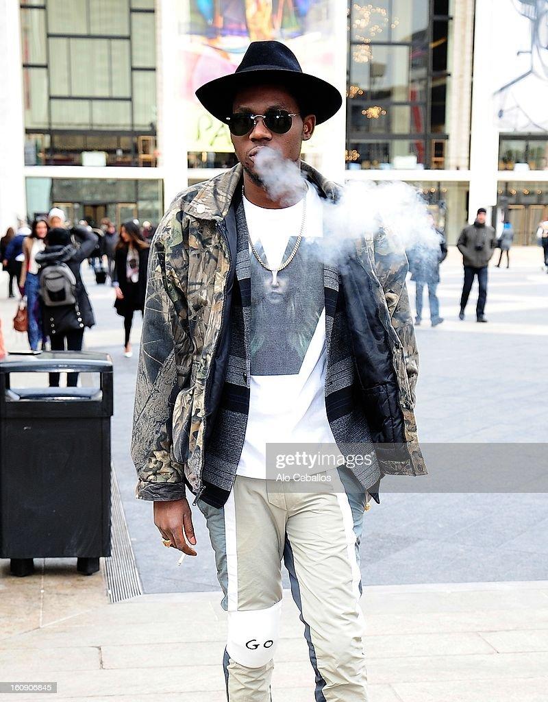 Celebrity Sightings In New York City - February 7, 2013