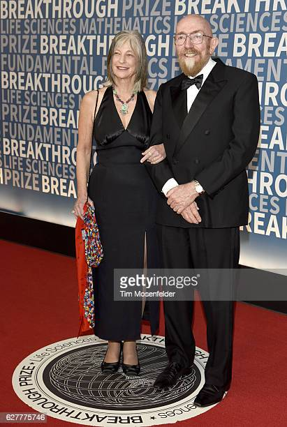 Theoretical Physicist Kip Thorne and guest attend the 5th Annual Breakthrough Prize Ceremony at NASA Ames Research Center on December 4 2016 in...