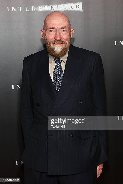 Theoretical physicist Kip Thorne attends the Interstellar New York premiere at AMC Lincoln Square Theater on November 3 2014 in New York City