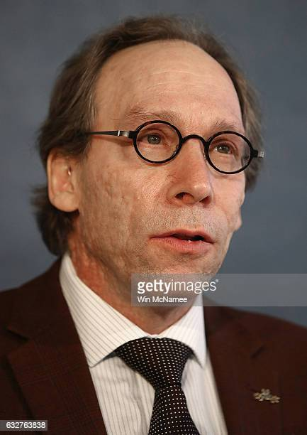 Theoretical physicist Lawrence Krauss a member of the Bulletin of Atomic Scientists delivers remarks on the 2017 time for the 'Doomsday Clock'...