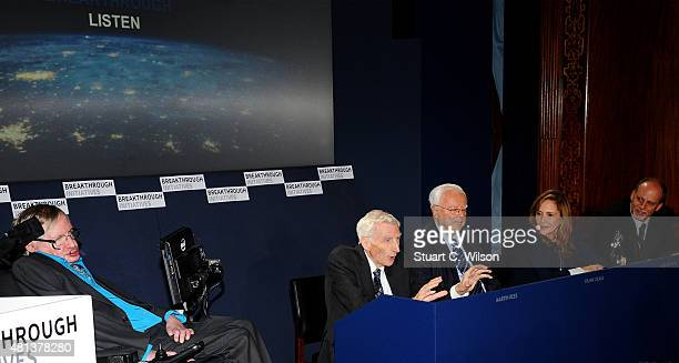Theoretical Physicist Stephen Hawking Cosmologist and astrophysicist Lord Martin Rees Chairman Emeritus SETI Institute Frank Drake Creative Director...