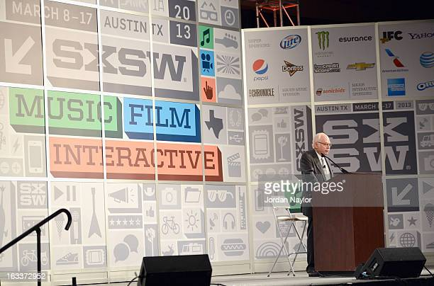 Theoretical physicist Steven Weinberg speaks onstage at the Toward the Unification of Physics panel during the 2013 SXSW Music, Film + Interactive...
