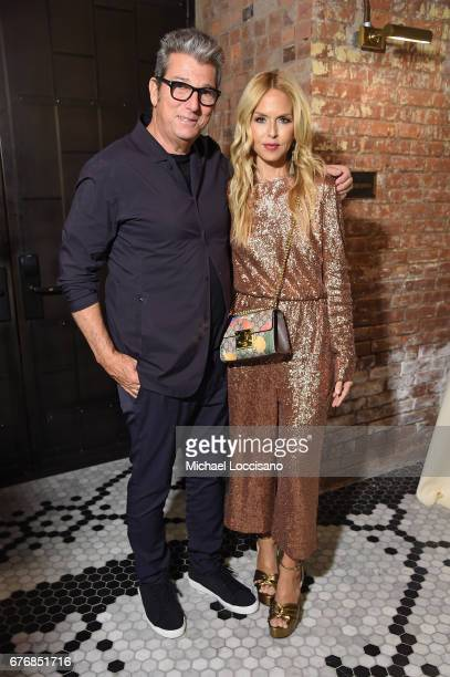 Theory CEO Andrew Rosen and Rachel Zoe attend cocktails hosted by The Business of Fashion to celebrate BoF's special print edition in America at...
