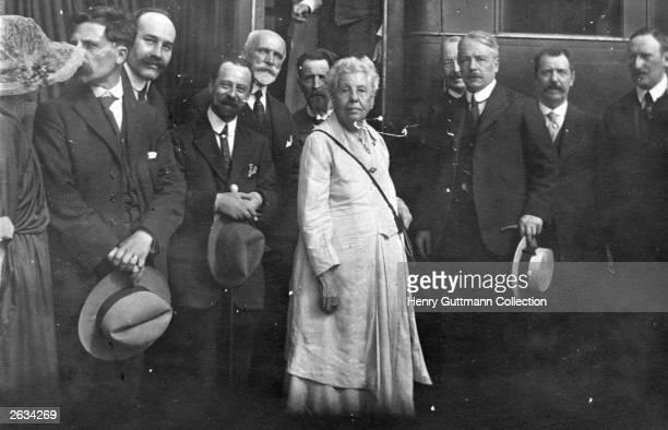 Theosophist Mrs Annie Besant