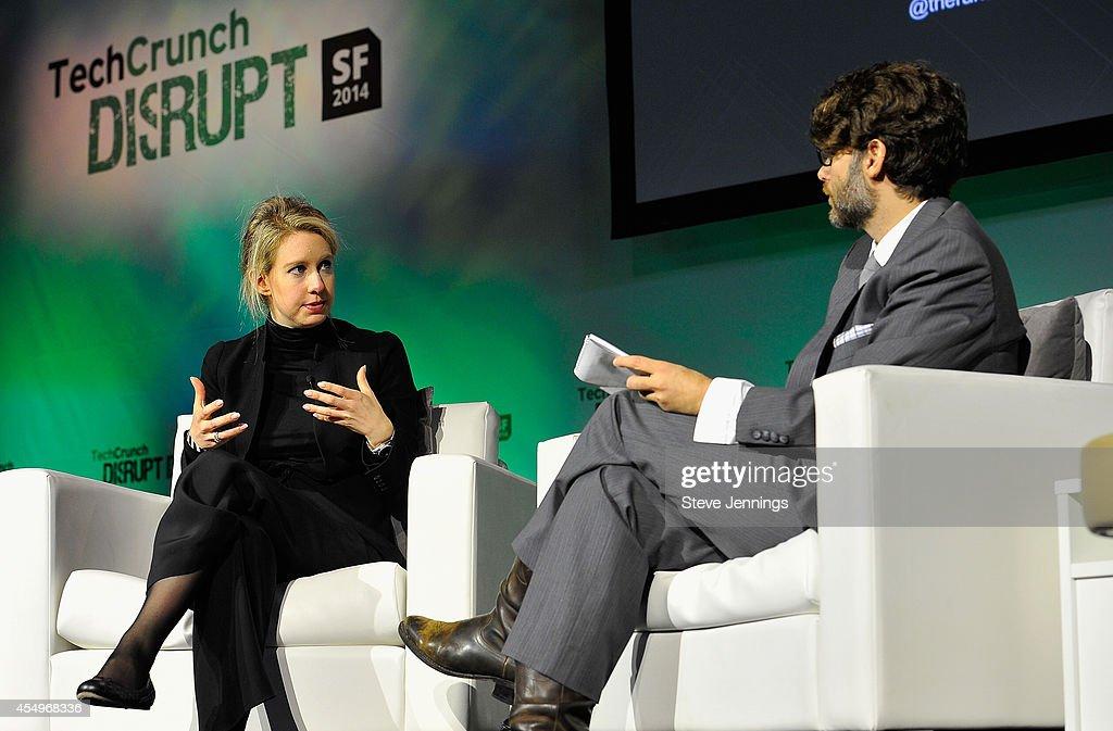 TechCrunch Disrupt SF 2014 - Day 1 : News Photo