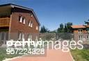 Therapiezentrum der Suchthilfegemeinschaft `Synanon' auf dem Gut Schmerwitz bei Belzig Unter dem Motto Leben ohne Drogen sollen hier ehemalige...