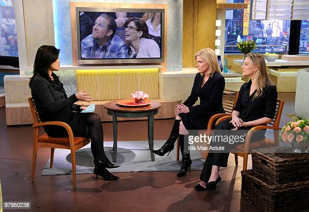 AMERICA Therapist Bethany Marshall and author Isabel Gillies discuss infidelity on GOOD MORNING AMERICA 3/22/10 airing on the Walt Disney Television...