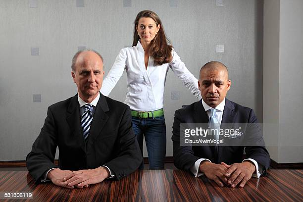 therapist with anti-stress therapy with business men - executive director stock pictures, royalty-free photos & images