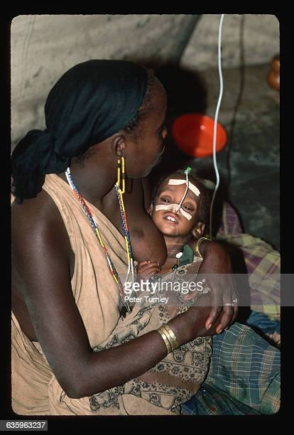 There are about twenty deaths a day at the TugWajale refugee camp due to malnutrition and disease | Location TugWajale refugee camp Somalia