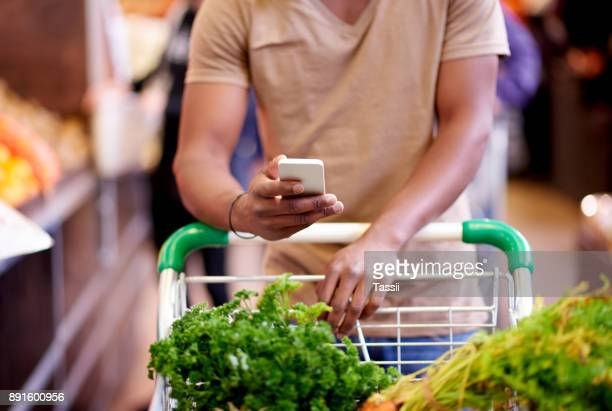 There are many list-managing apps for your next shopping trip