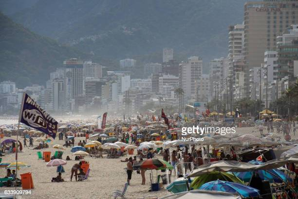 There are only a few days left until the official start of the carnival in Rio de Janeiro but the city is already full of tourists who enjoy the...