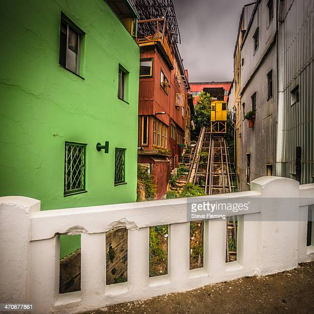 CONTENT] There are several funicular railways that make their way up the hillside of the town Valparaiso is a world Heritage centre famous for it's...