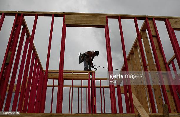 There are signs of hope in the Lower Ninth Ward of New Orlean Louisiana as some new homes are being constructed along with the Brad Pitt initiative...