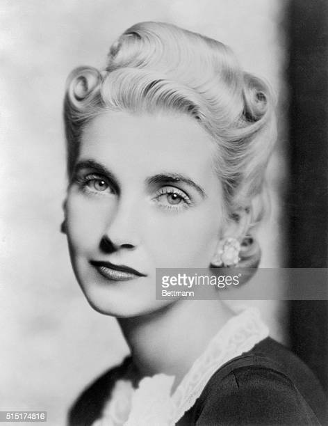 There is a pensive not to say longing look in the beautiful eyes of Countess HaugwitzReventlow The former Miss Barbara Hutton In this recent portrait...
