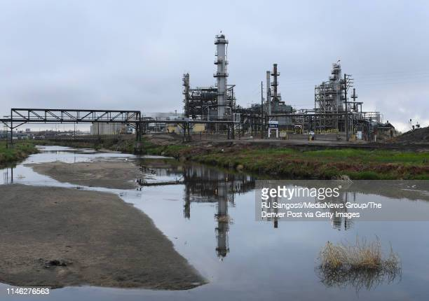 There is growing concerns over the amount of hydrogen cyanide gas that is pumped out of SunCor Energy Refinery on May 1, 2019 in Denver, Colorado.