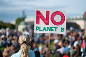 there is no plante b, climate change protest