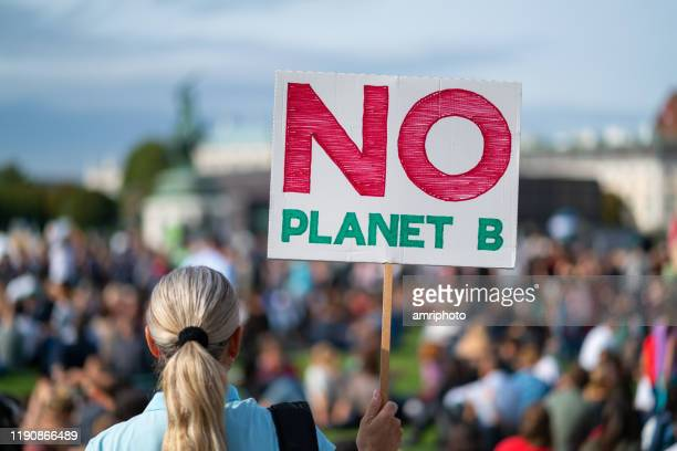 there is no plante b, climate change protest - climate change stock pictures, royalty-free photos & images