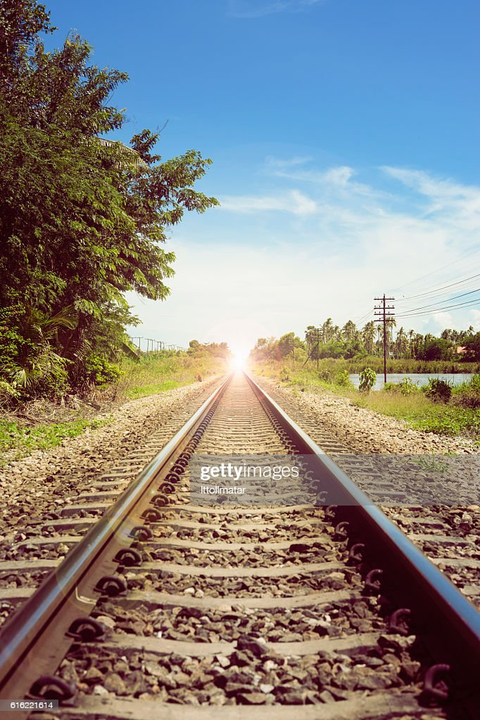 There light at the end of the tunnel', success way : Foto stock