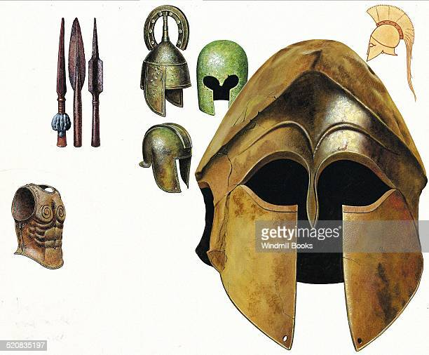 There was considerable variety in the style of Greek helmets The Corinthian helmet which gave good protection at the cost of limited vision and...