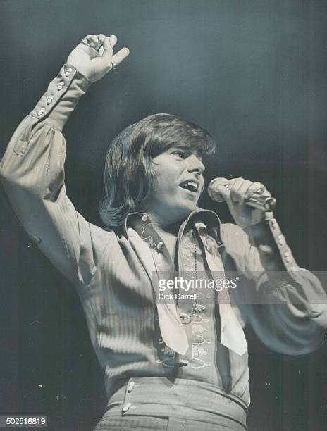 There was mass Frenzy at the CNE grandstand last night as singer Bobby Sherman broke up the house [Incomplete]