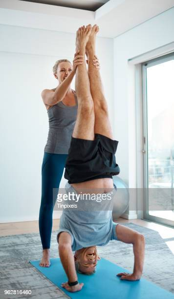 there we go - handstand stock pictures, royalty-free photos & images