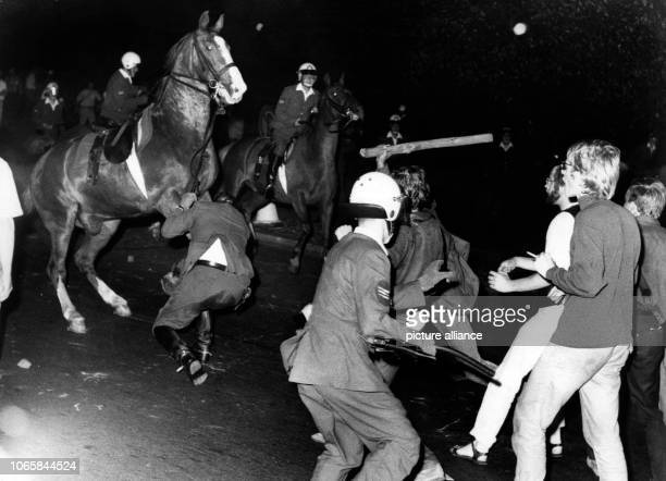 There were heavy riots between protesters and police during a demonstration on the 25th of July in 1969 organised by the Extraparliamentary...