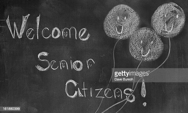MAR 12 1976 MAR 17 1976 There Were Smiles All Round Even On Blackboard Crudely drawnbut smiling flowers set tone for welcome at Peiffer School
