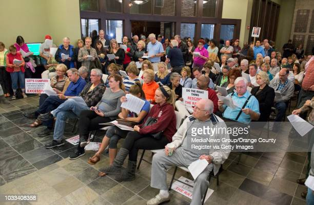 There were so many residents attending the Yorba Linda Water District board meeting an overflow room had to be created in the district's lobby The...