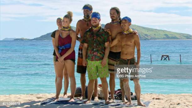 'There's A New Sheriff in Town' Debbie Wanner Andrea Boehlke Troyzan Robertson Zeke Smith Oscar 'Ozzy' Lusth and Tai Trang on the eighth and ninth...