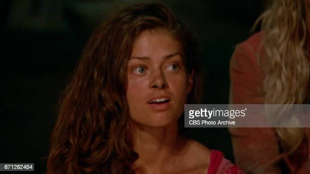 'There's A New Sheriff in Town' Hali Ford at Tribal Council on the eighth and ninth episode of SURVIVOR Game Changers airing Wednesday April 19 on...