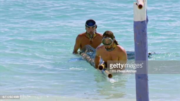 'There's A New Sheriff in Town' Troyzan Robertson and Oscar 'Ozzy' Lusth on the eighth and ninth episode of SURVIVOR Game Changers airing Wednesday...