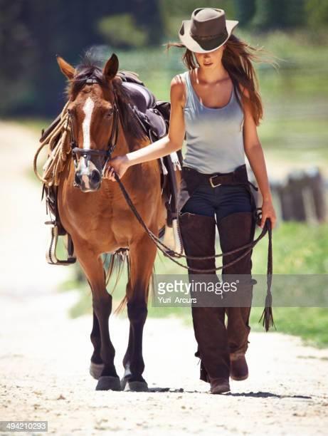 Hay una fuerte adhesión entre rider y caballos