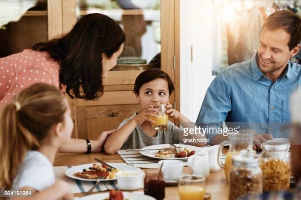 Er is een verrassing als u klaar bent met alle uw ontbijt