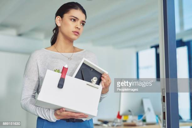 there's always a new opportunity to move on to - dismissal stock photos and pictures