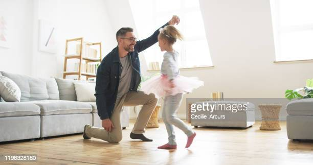 there's never a dull moment when they're together - father daughter stock pictures, royalty-free photos & images