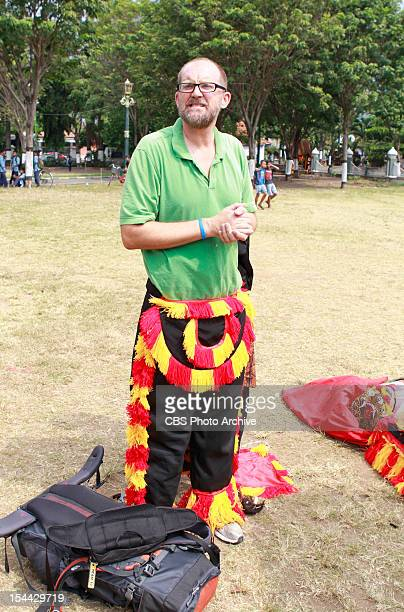 """""""There's No Crying in Baseball"""" --In Detour A, Gary must perform with a Javanese Reog group while wearing a giant mask that weighs over forty pounds..."""